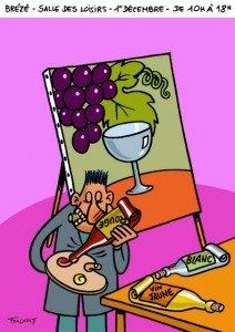 salon 2015 art et vin brézé